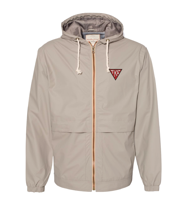 TKE Houseplate Rain Jacket