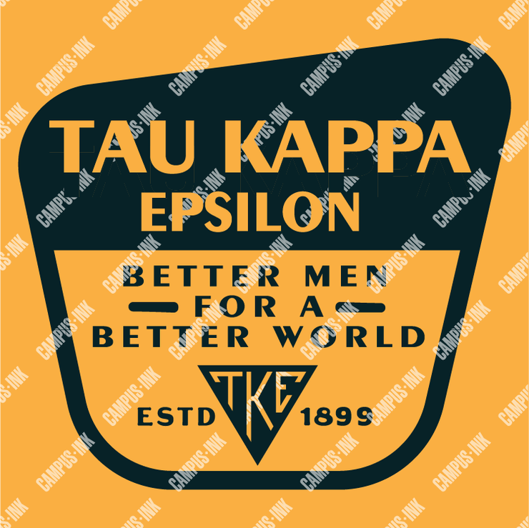 Tau Kappa Epsilon Better Men Badge Design