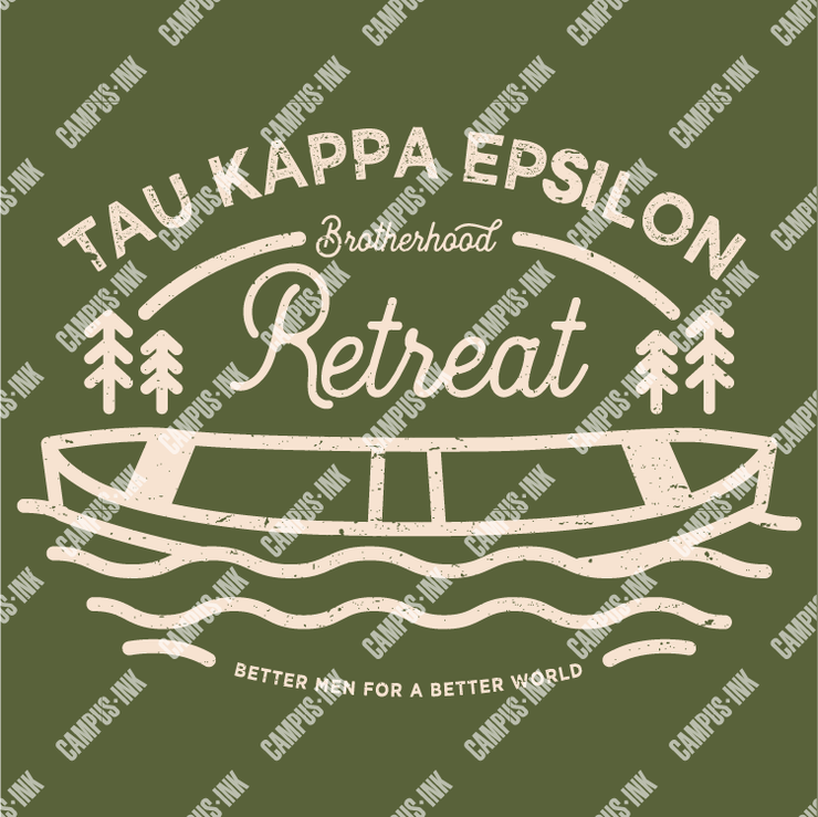 Tau Kappa Epsilon Brotherhood Retreat Lake Design