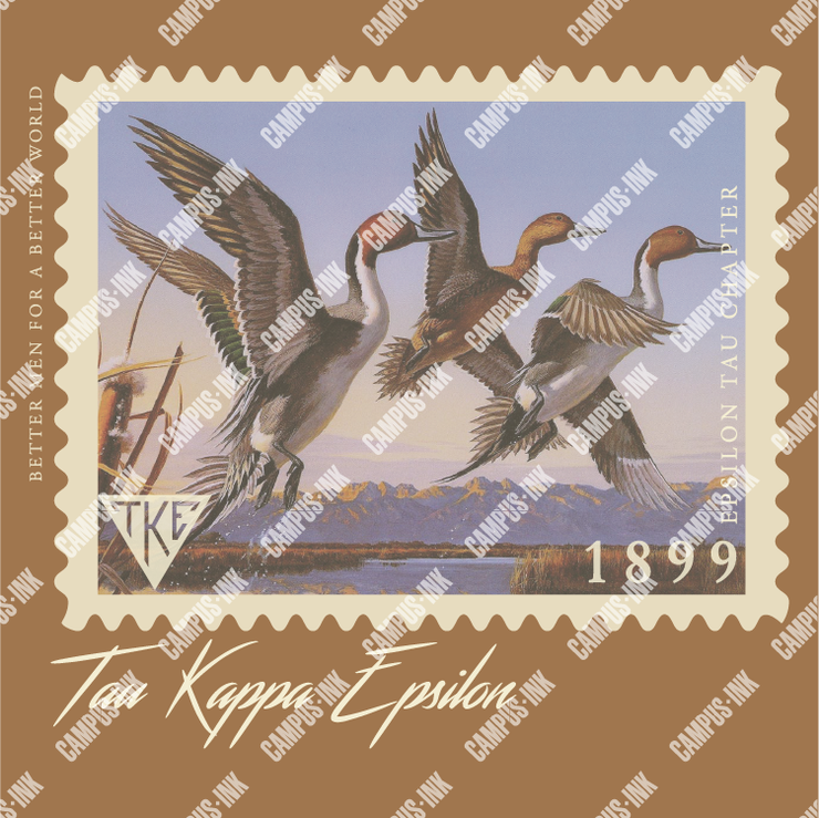 Tau Kappa Epsilon Duck Stamp Design