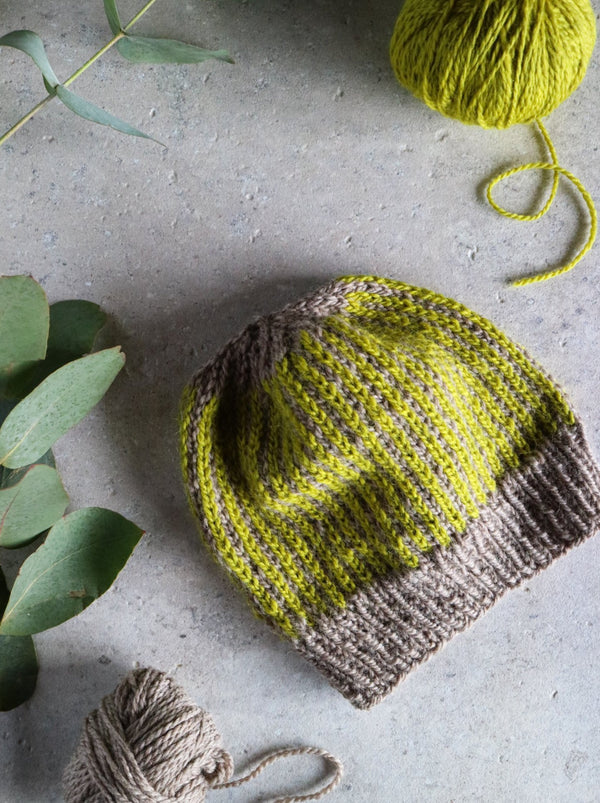 WOOLSTOK COLOURWORK BEANIE KNIT KIT