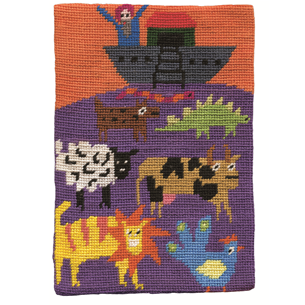 Jennifer Pudney Needlepoint Kit Noah's Ark