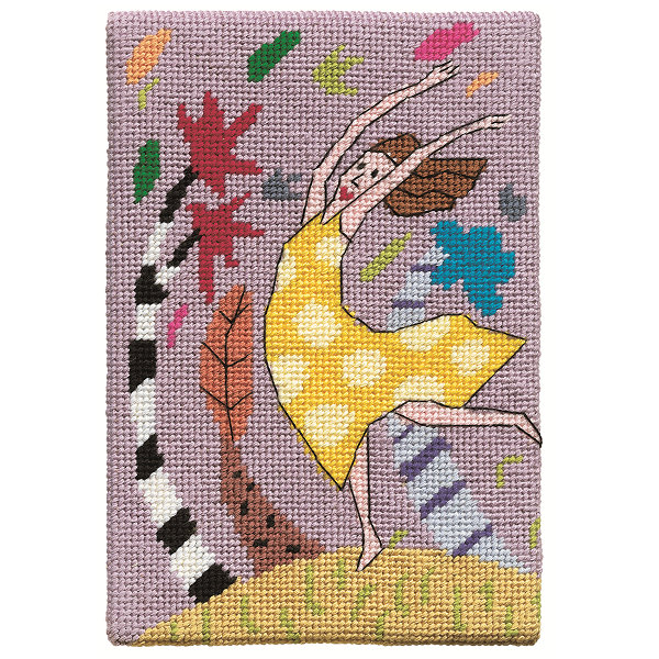 Jennifer Pudney Needlepoint Kit Wind Dancer