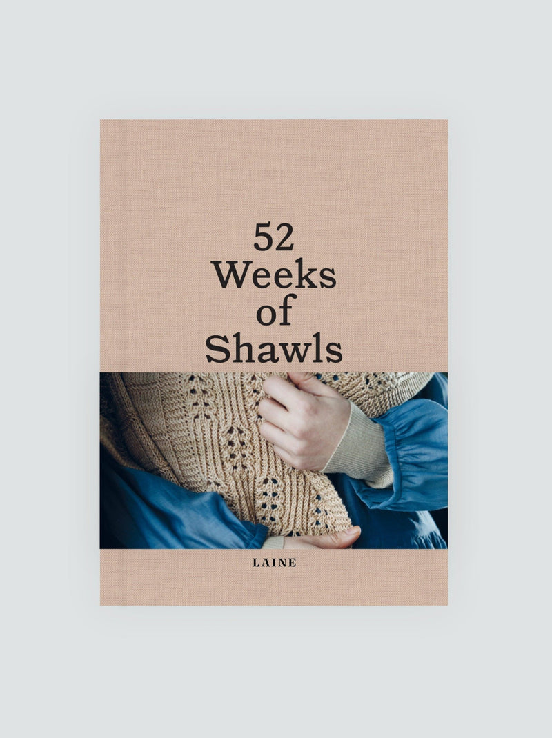 52 WEEKS OF SHAWLS BOOK