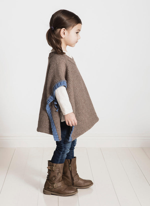 Puddle Jumper Poncho Knit Kit