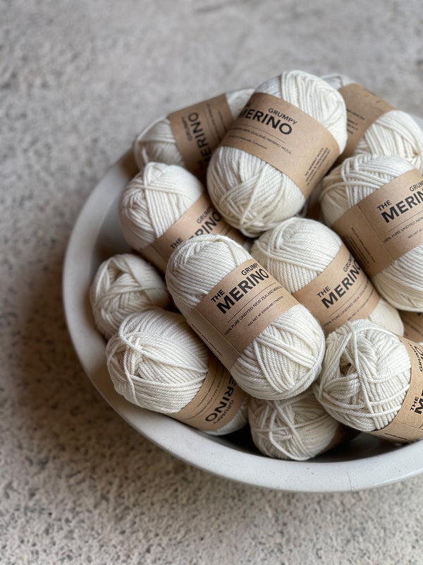 The Grumpy Merino 8ply Yarn