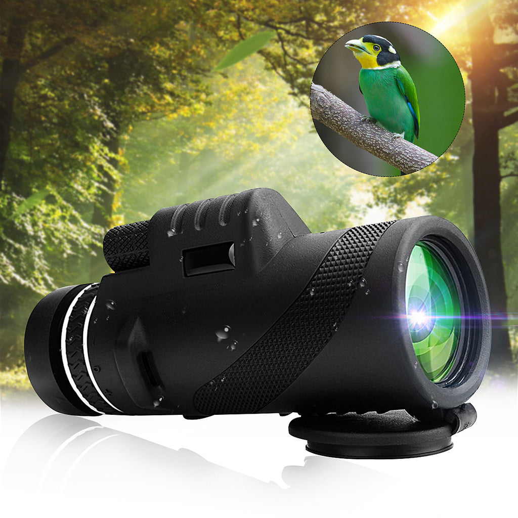 40x60 Monocular Outdoor Camping Telescope HD Zoom Hiking Night Vision