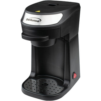 Brentwood Appliances TS-111BK Single-Serve Coffee Maker with Mug