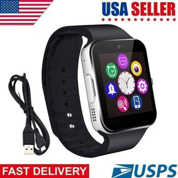 Latest 2018 GT08 Bluetooth Smart Watch Phone Wrist Watch for Android and iOS US
