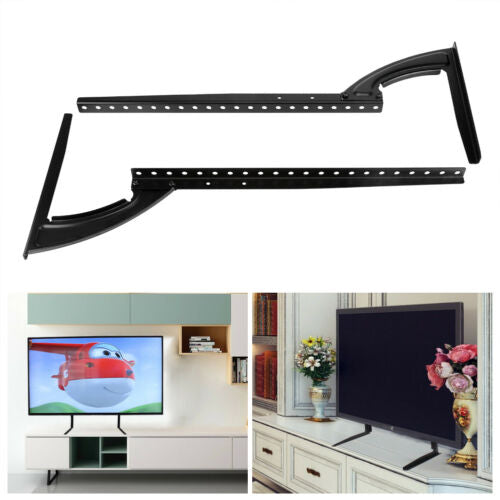 "Universal 26-65"" TV Mount Bracket FLAT TV LCD Screen Table Stand Adjustable Base"