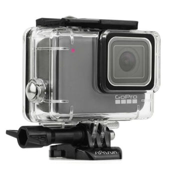 For GoPro HERO7 Silver / White 147ft Clear Underwater Waterproof Housing Case