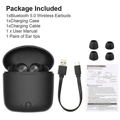 Wireless Bluetooth 5.0 Earphone Earbuds Sports Headsets In-Ear Stereo Headphones