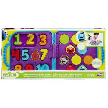 Playskool Sesame Street  Cookie Monster's On the Go Numbers