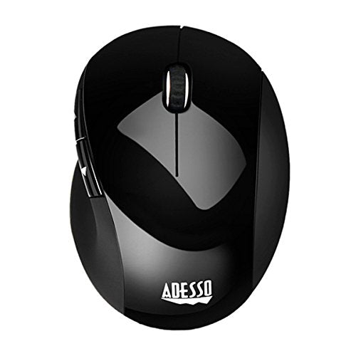 Adesso iMouse E55 - 2.4GHz RF Wireless Vertical Ergonomic Mouse
