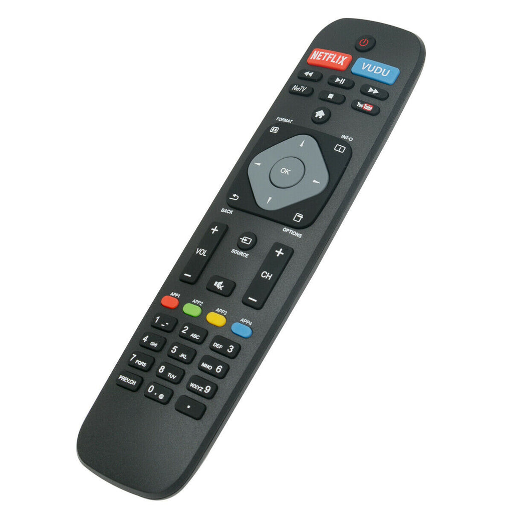 Remote Replace for Philips TV 65PFL8900/F7 55PFL5601/F7 49PFL7900/F7 55PFL7900/F