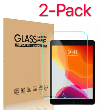 2-Pack Tempered Glass Screen Protector For iPad 2 3 4 Air Pro 9.7
