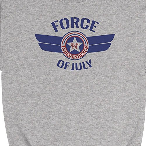 Force Of July Unisex Crewneck Sweatshirt US Airforce Veteran Gifts
