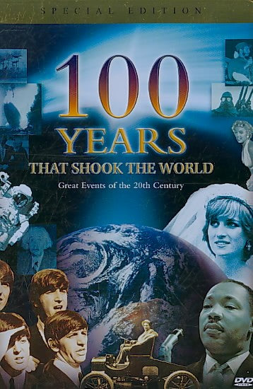 100 YEARS THAT SHOOK THE WORLD (DVD) (3DISCS/TIN)!NLA