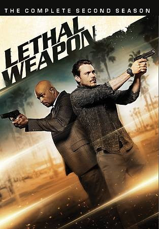 MOD-LETHAL WEAPON-COMPLETE 2ND SEASON (4 DVD/NON-RETURN/2017-18)