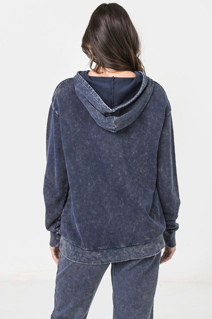 A Mineral Washed Hoodie