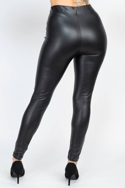 Faux Leather Skinny Pants