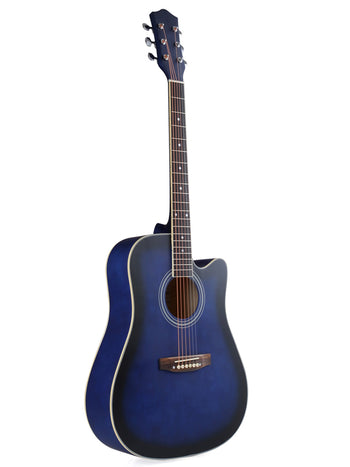 ADM 41 Inch Full Size Dreadnought Cutaway Acoustic Guitar,