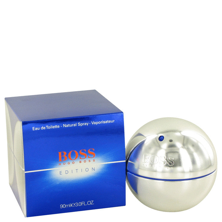 Boss In Motion Electric by Hugo Boss Eau De Toilette Spray 3 oz for Men
