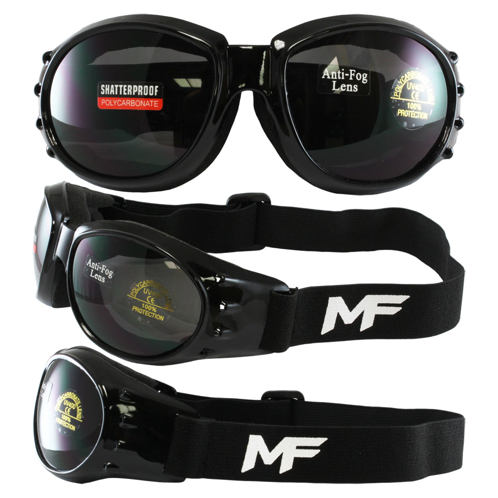 Vulcan Goggles with Smoke Lenses