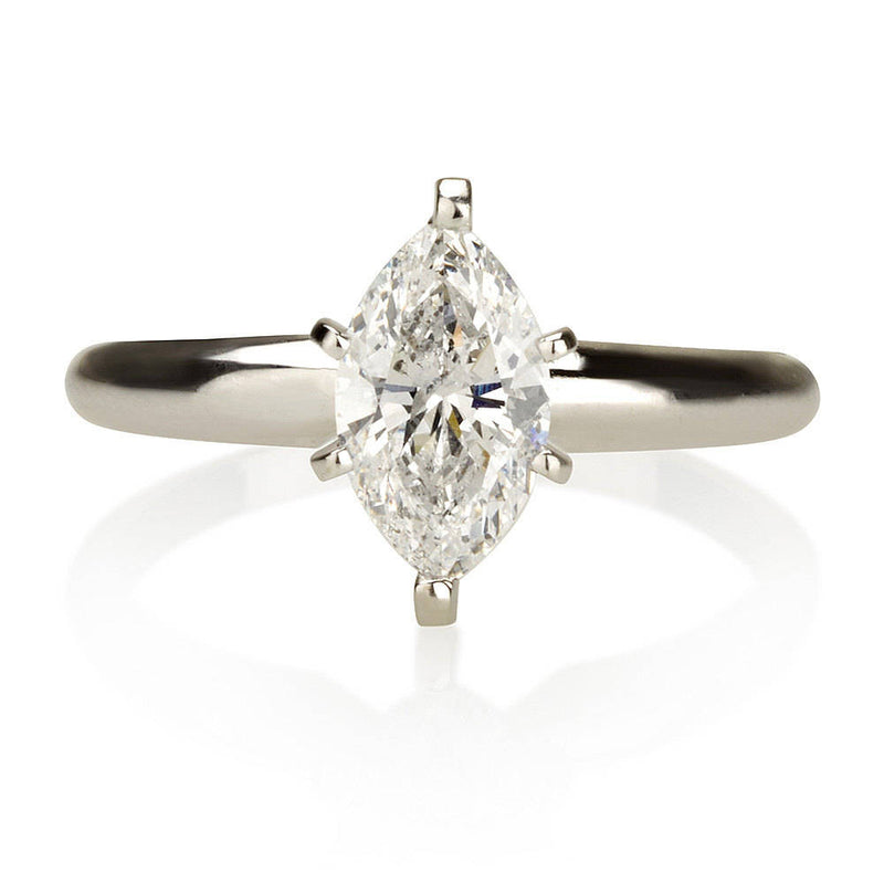 1.00ct Marquise Solitaire Engagement Ring