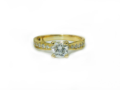 1.00 Carats Diamond Engagement Ring
