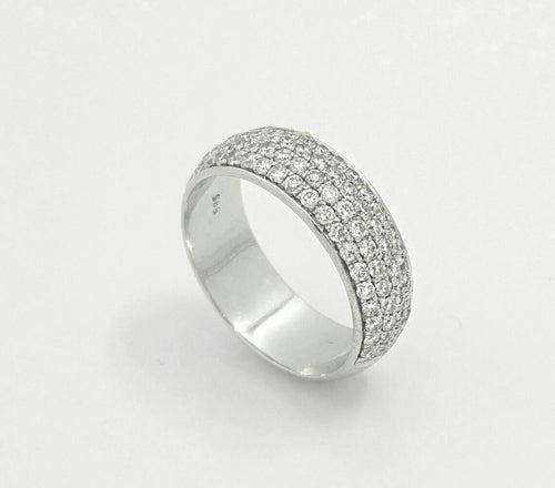 Micro pave Diamond Eternity Ring