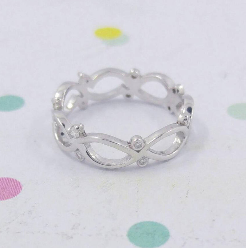 Celtic Wedding Diamond Band Ring