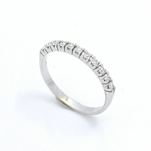 Half Eternity Diamond Band Ring