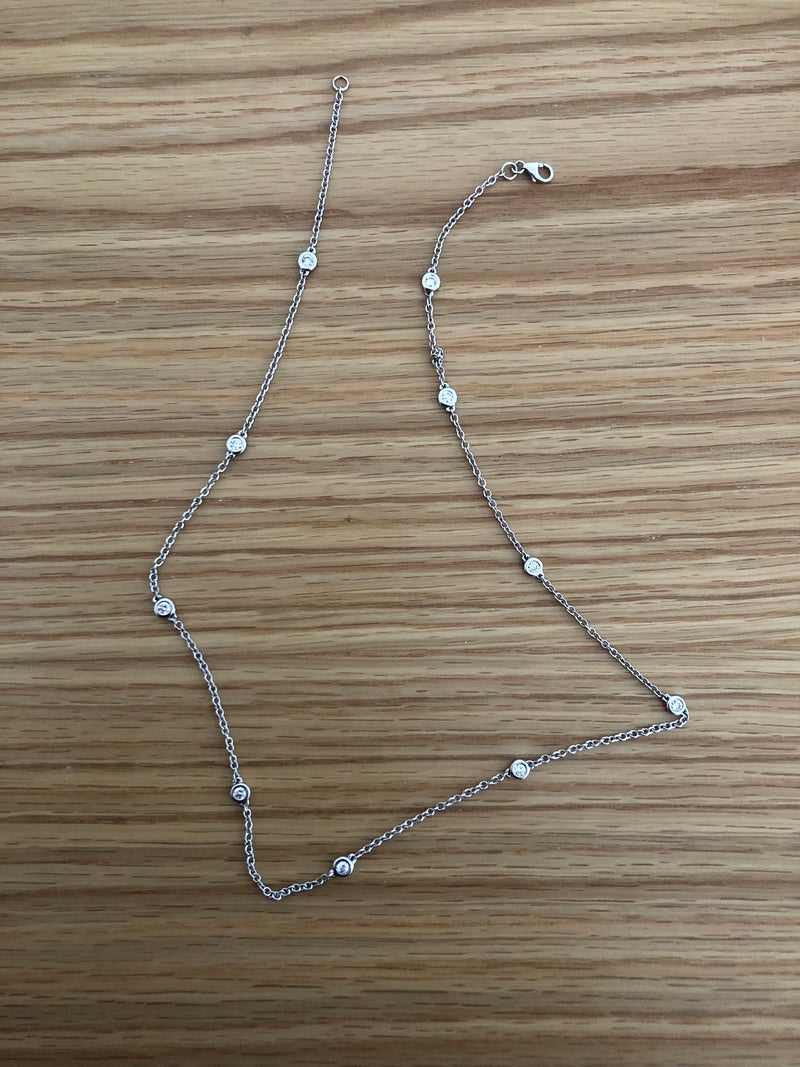 Diamond By The Yard Necklace Pendant
