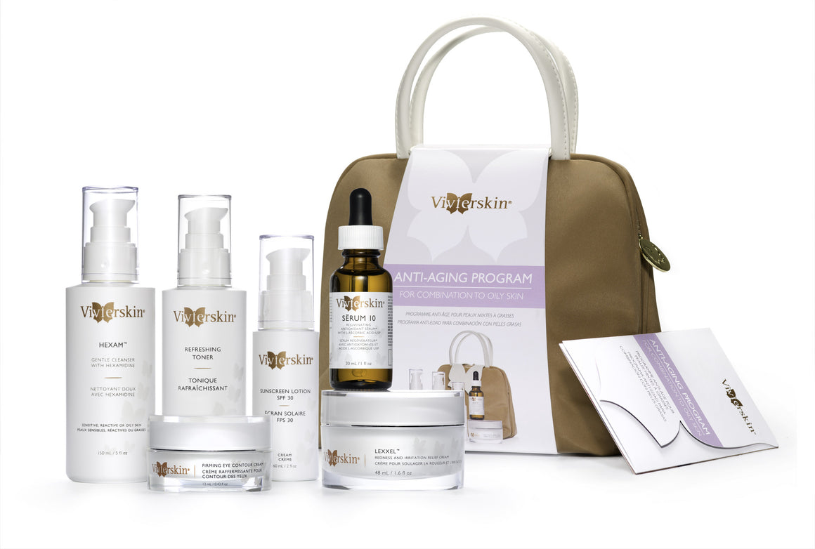 VivierSkin Anti-Aging Program for combination to Oily Skin