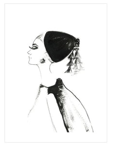 Greeting Card - Audrey