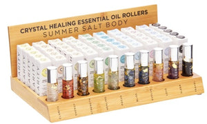 Essential Oil Crystal Rollers - Strength (10ml)