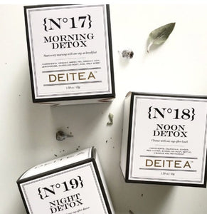 Detox Tea Pack - Morning, Noon and Night