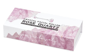 Facial Roller - Rose Quartz