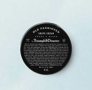 Triumph & Disaster Old Fashioned Shave Cream 100ml Jar