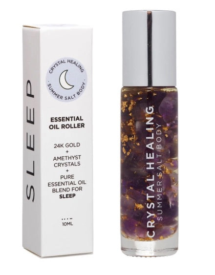 Essential Oil Crystal Rollers - Sleep (10ml)