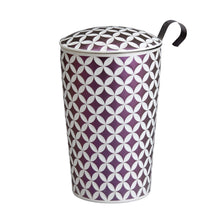 Load image into Gallery viewer, Teaeve May Lin Porcelain Cup (with stainless steel infuser) - Mauve