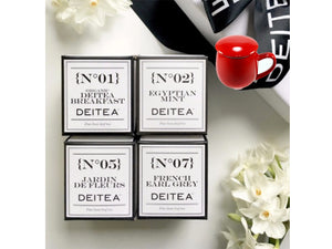 Wellness Pack - Deitea Miniature Gift Set (with or without Infuser Mug)