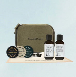 Triumph & Disaster - Dopp & Hair Care Travel Kit