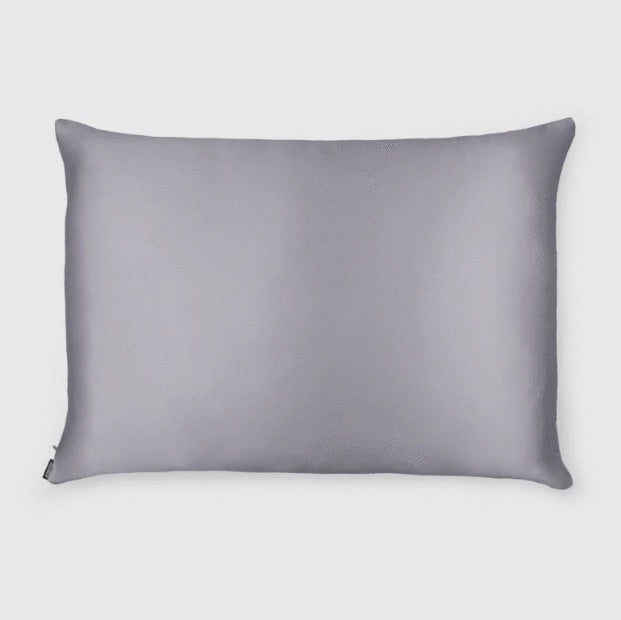 Shhh Silk - Violet Grey Silk Pillowcase