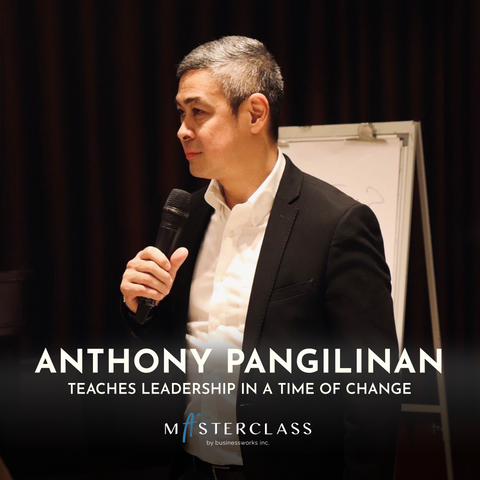 Anthony teaches Leadership in a Time of Change