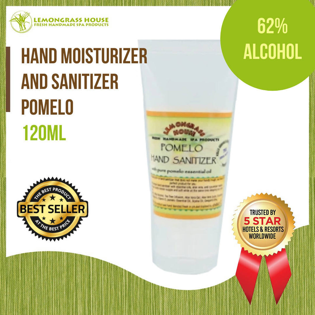 Lemongrass House Pomelo Hand Moisturizer and Sanitizer 120ml