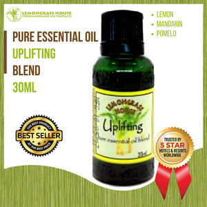 Lemongrass House Uplifting Pure Essential Oil Blend, 100% Pure Therapeutic Grade, 30ML