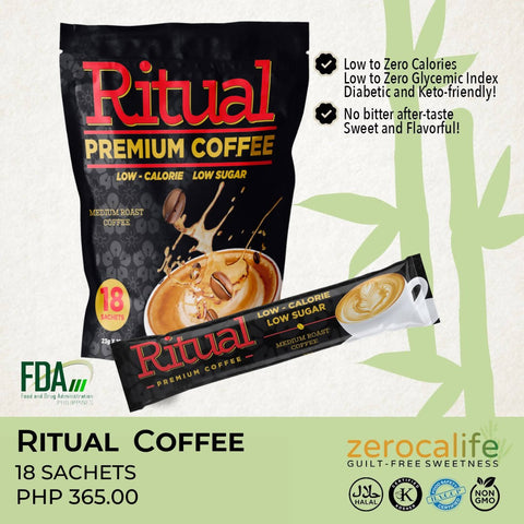 RITUAL PREMIUM COFFEE (LOW CALORIE & LOW GLYCEMIC INDEX)