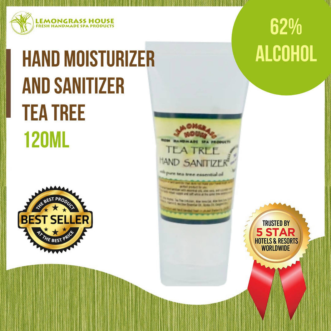 Lemongrass House Tea Tree Hand Moisturizer and Sanitizer 120ml
